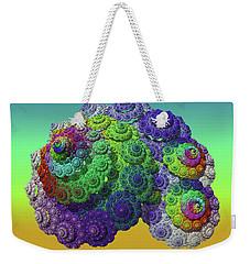 Infinite Inspiration Spiral Weekender Tote Bag