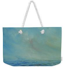 Weekender Tote Bag featuring the painting Infinite by Jane See