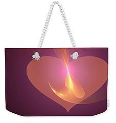 Infinite Love Weekender Tote Bag