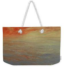 Weekender Tote Bag featuring the painting Infinite Peace by Jane See