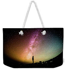Infinite Possibilities Weekender Tote Bag by Happy Home Artistry