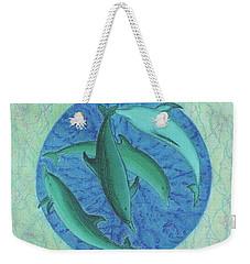 Infinity 5 Forever Peace Weekender Tote Bag