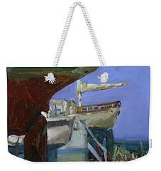 Infinity Awaiting Winter - Plein Air Catalina Island Weekender Tote Bag