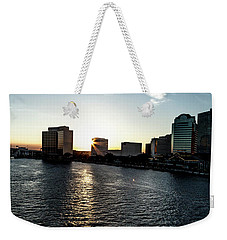 Weekender Tote Bag featuring the photograph Influential Light by Eric Christopher Jackson