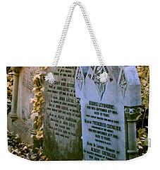 Infrared George Leybourne And Albert Chevalier's Gravestone Weekender Tote Bag