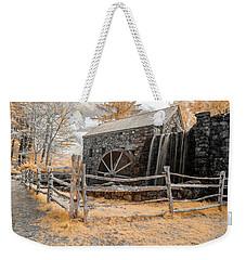 Infrared Grist Mill Weekender Tote Bag