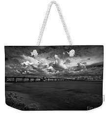 Infrared Longboat Pass Bridge Weekender Tote Bag