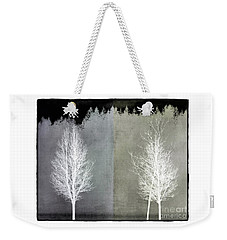 Infrared Trees With Texture Weekender Tote Bag