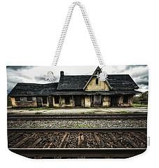 Ingersoll Train Station Color Weekender Tote Bag