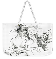 Inhabitants Of The Sky Realm Weekender Tote Bag