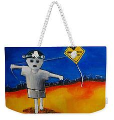 Inhalation Hazard Weekender Tote Bag by Jean Cormier