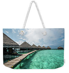 Weekender Tote Bag featuring the photograph Inhale by Hannes Cmarits