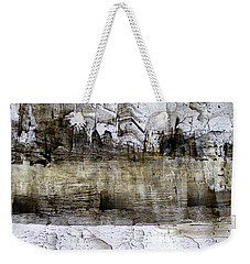 Weekender Tote Bag featuring the painting Ink On A Roll by Nancy Kane Chapman
