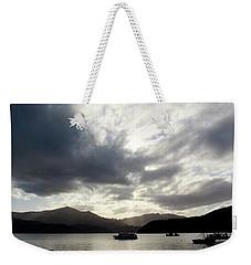 Inkspill Sunset Weekender Tote Bag