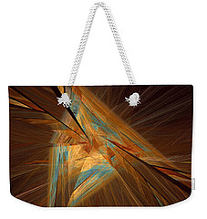 Inlaid Weekender Tote Bag