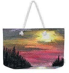 Inlet Weekender Tote Bag by R Kyllo