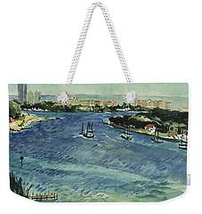 Inlet Weekender Tote Bag