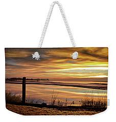 Inlet Watch At Dawn Weekender Tote Bag