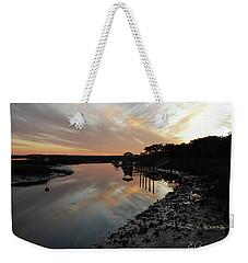 Inlet Sunset Weekender Tote Bag