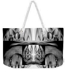 Weekender Tote Bag featuring the digital art Inner Dimensions by Lynda Lehmann