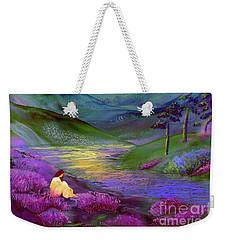 Inner Flame, Meditation Weekender Tote Bag