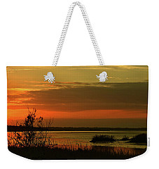 Weekender Tote Bag featuring the photograph Inner Glow by Laura Ragland