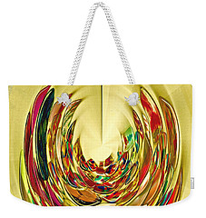 Weekender Tote Bag featuring the photograph Inner Peace by Nareeta Martin