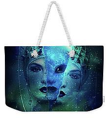 Interstellar Weekender Tote Bag by Kathy Kelly