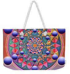 Inner Space Weekender Tote Bag