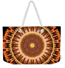 Inner Star Mandala Weekender Tote Bag