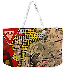 Inner Warrior  Weekender Tote Bag by Miriam Moran