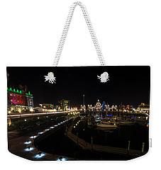 Inner Harbour Of Victoria Bc Weekender Tote Bag by Marilyn Wilson