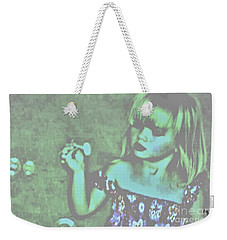 Weekender Tote Bag featuring the photograph Innocence by Marsha Heiken