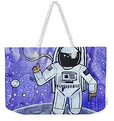 Inquisitive Explorer Weekender Tote Bag