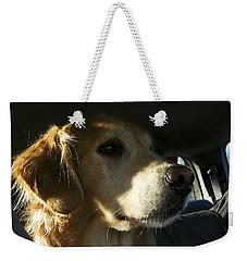Inquisitive Weekender Tote Bag