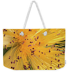 Inside A Flower - Favorite Of The Bees Weekender Tote Bag
