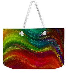 Inside A Rainbow Weekender Tote Bag by Stuart Turnbull
