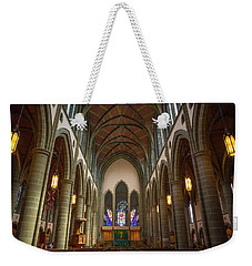 Inside Christchurch Cathedral Weekender Tote Bag