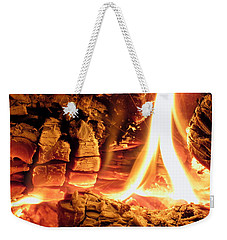 Inside Fire Weekender Tote Bag