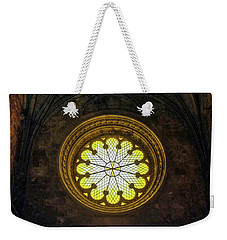 Weekender Tote Bag featuring the photograph Inside Jeronimos by Carlos Caetano