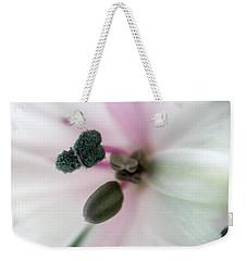 Inside Macro Tulip  Weekender Tote Bag