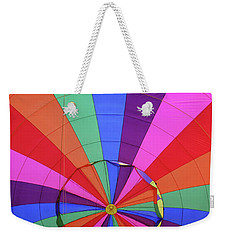 Inside Out Weekender Tote Bag