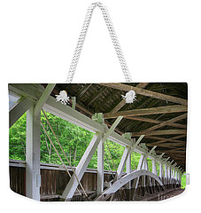 Inside The Covered Bridge Weekender Tote Bag
