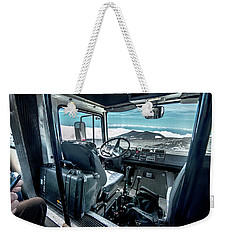 Inside The Etna Tour Unimog Weekender Tote Bag
