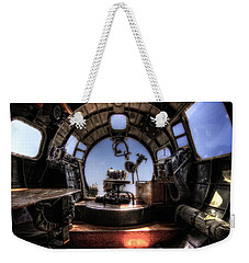 Inside The Flying Fortress Weekender Tote Bag