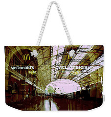 Inside Victoria Station Weekender Tote Bag