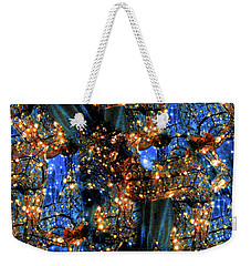 Weekender Tote Bag featuring the digital art Inspiration #6102 by Barbara Tristan