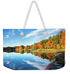 Weekender Tote Bag featuring the photograph Inspiration by Greg Fortier