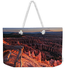 Weekender Tote Bag featuring the photograph Inspiration Point by Edgars Erglis