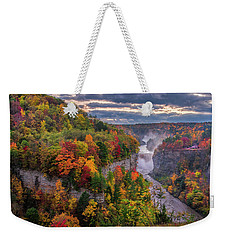 Inspiration Point Weekender Tote Bag by Mark Papke